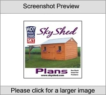 SkyShed Backyard Observatory Building Plans Screenshot
